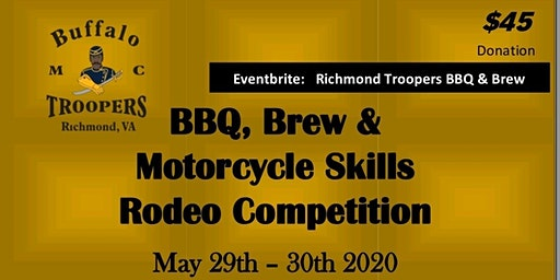 Richmond Troopers BBQ & Brew Motorcycle Skills Rodeo Competition