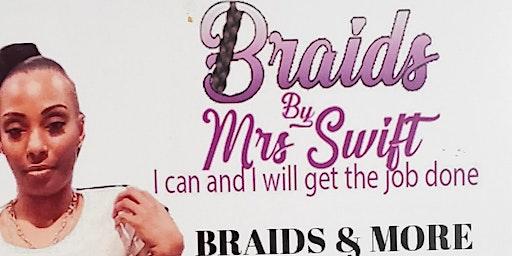 Braiding Class with #BRAIDSBYMRSSWIFT