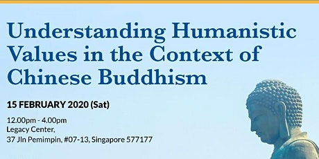 Understanding Humanistic Values in the Context of Chinese Buddhism tickets