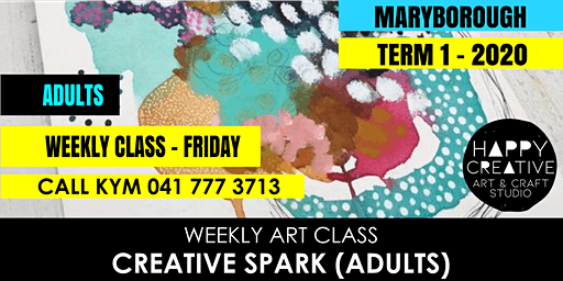 Creative Spark (Adults) - FRIDAY CLASS