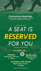 Worship Service @ RCCG Cornerstone Assembly San Diego, CA tickets