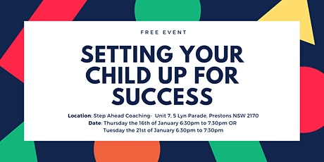 Setting Your Child up for Success tickets