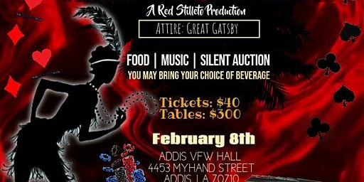 Louisiana Tri-Parish Alumnae Chapter Presents Harlem Nights: Red Stiletto