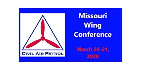 Missouri Wing Conference 2020, Civil Air Patrol tickets