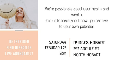 BE INSPIRED LAUNCH HOBART  tickets