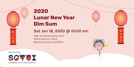 2020 Lunar New Year Dim Sum tickets