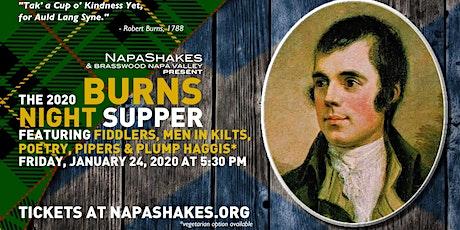 NapaShakes Burns Night Supper 2020 tickets