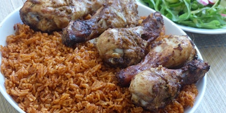 THE 'JOLLOF EXPERIENCE' COOKING CLASS  tickets