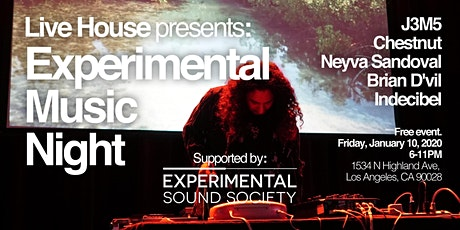 Experimental Music Night tickets