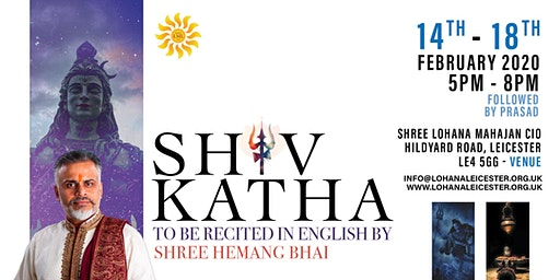 Shiv Katha - To Be Recited in English by Shree Hemang Bhatt