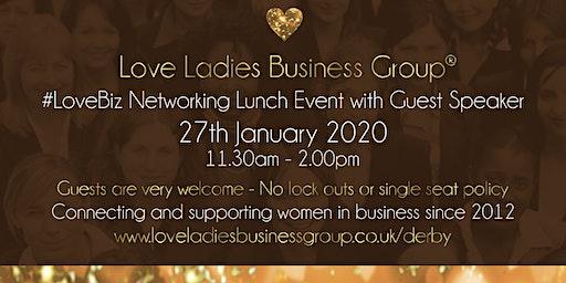 Derby #LoveBiz Networking Lunch Event