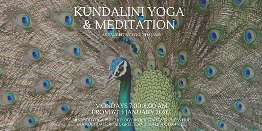 Kundalini Yoga & Meditation - Wake up Your Week!