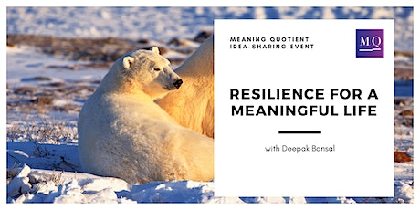 Event: Resilience for a Meaningful Life tickets