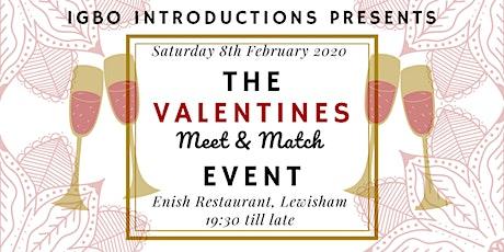 The Valentines Meet&Match Event tickets