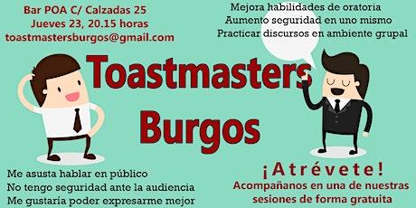 Sesión en castellano de Toastmasters Burgos - Liderazgo -Hablar en público entradas