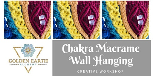 Chakra Macrame Wall Hanging Workshop