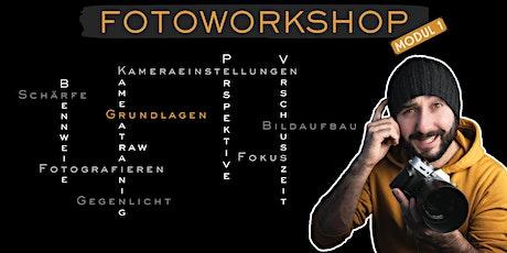 Fotoworkshop Modul 1: Kameratraining und Grundlagen Tickets