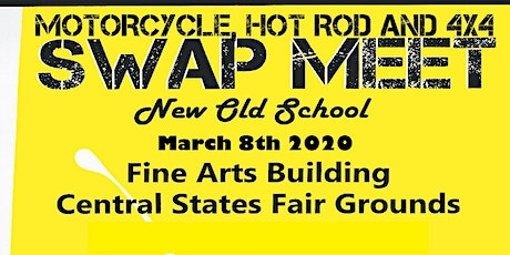Motorcycle, Hot Rod and 4x4 Swap Meet tickets