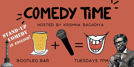 Comedy Time (Stand-up in English!) tickets