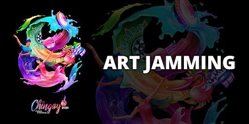 Chingay Carnival: Art Jamming