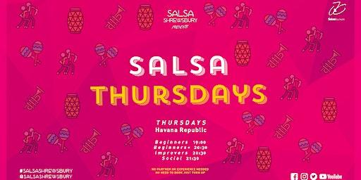 Salsa Thursdays at Havana Republic | Salsa Shrewsbury
