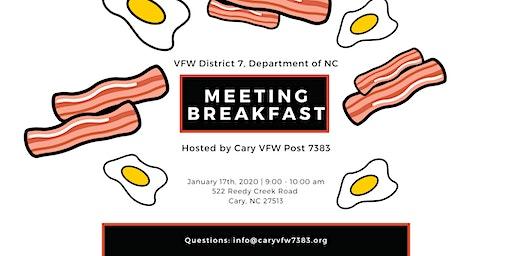 District 7 Meeting Breakfast