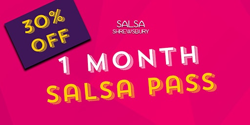 1 Month of Salsa Classes for just £20