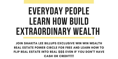EVERYDAY PEOPLE CO-CREATE EXTRAORDINARY WEALTH IN REAL ESTATE tickets