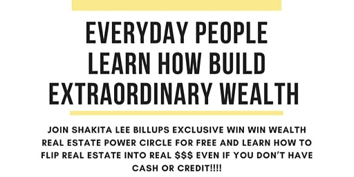 EVERYDAY PEOPLE CO-CREATE EXTRAORDINARY WEALTH IN REAL ESTATE