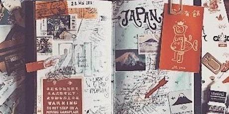 Workshop - September 6 - Custom Japanese inspired Journal tickets