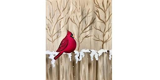 Bolts Sports Cafe - Cardinal Visit - Paint Party