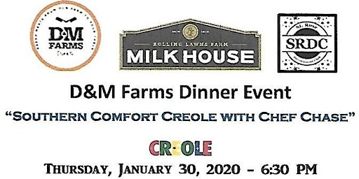 Southern Comfort Creole Farm to Table Dinner