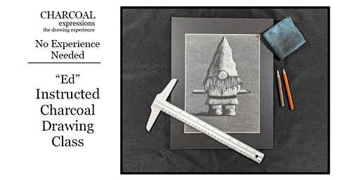 """Charcoal Drawing Event """"Ed"""" in Reedsburg"""