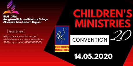 CHILDREN'S MINISTRIES COORDINATORS CONVENTION tickets