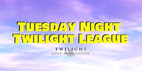 Tuesday Night Twilight League at Pueblo El Mirage Golf Course tickets