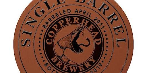 Copperhead Brewery Single Barrel Stout (Buffalo Trace) Release!