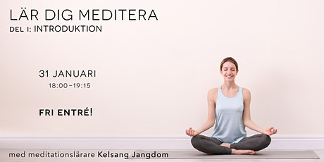Lär dig meditera: Introduktion (gratis) tickets