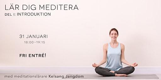 Lär dig meditera: Introduktion (gratis)