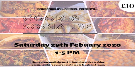 Cook & Socialise tickets