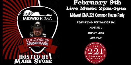 Midwest CMA 221 Common House Party tickets