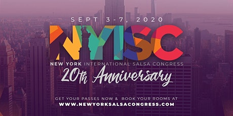 2020 New York International Salsa Congress - Performer Passes tickets