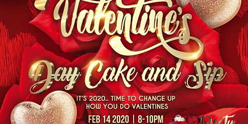 Valentines Day: Cake and Sip hosted by DreaCakesNYC