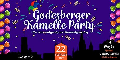Die große GODESBERGER KAMELLEPARTY m. Fiasko Tickets