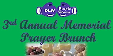 DLW Purple Gloves Annual Memorial Prayer Brunch tickets
