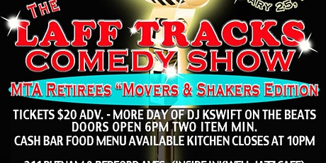 The Movers and Shakers Retirees Comedy Show tickets