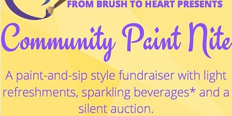 From Brush to Heart's Community Paint Nite! tickets