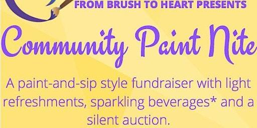 From Brush to Heart's Community Paint Nite!