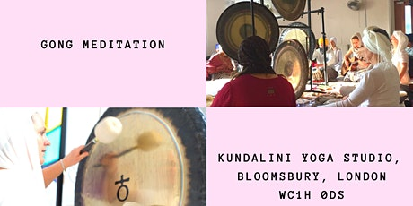 Gong Meditation tickets