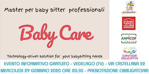 MASTER PER BABY SITTER PROFESSIONALI - Baby Care - VEDELAGO TV