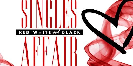 TBC Singles Red, Black & White Affair